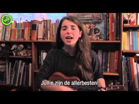 Anti Oranje lied van een Mexicaanse met ondertiteling