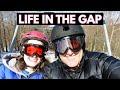 Delaware Water Gap National Rec. Area - Hiking and Skiing (Vlog)