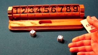 Clapper Dice Or Shut The Box Game And Great Educational Tool