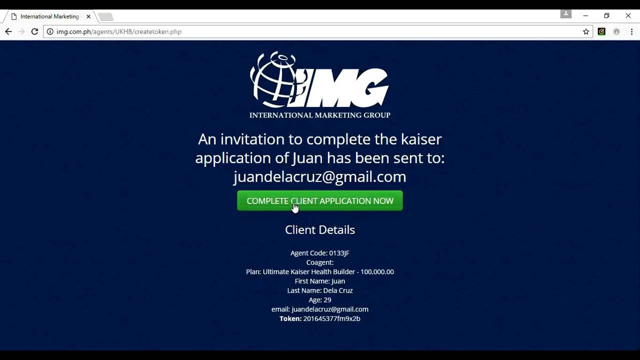 How To Make A Kaiser Proposal Using Img Eapp (part 1)