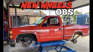 NEW WHEELS FOR THE OBS BUILD(@TIRES R US