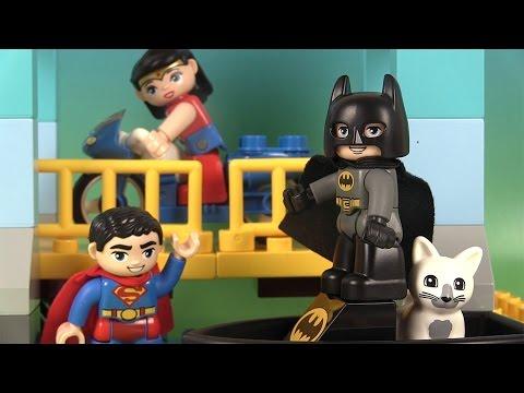 Lego Duplo L'Aventure de Batman, Superman, Wonderwoman Jeu de Construction