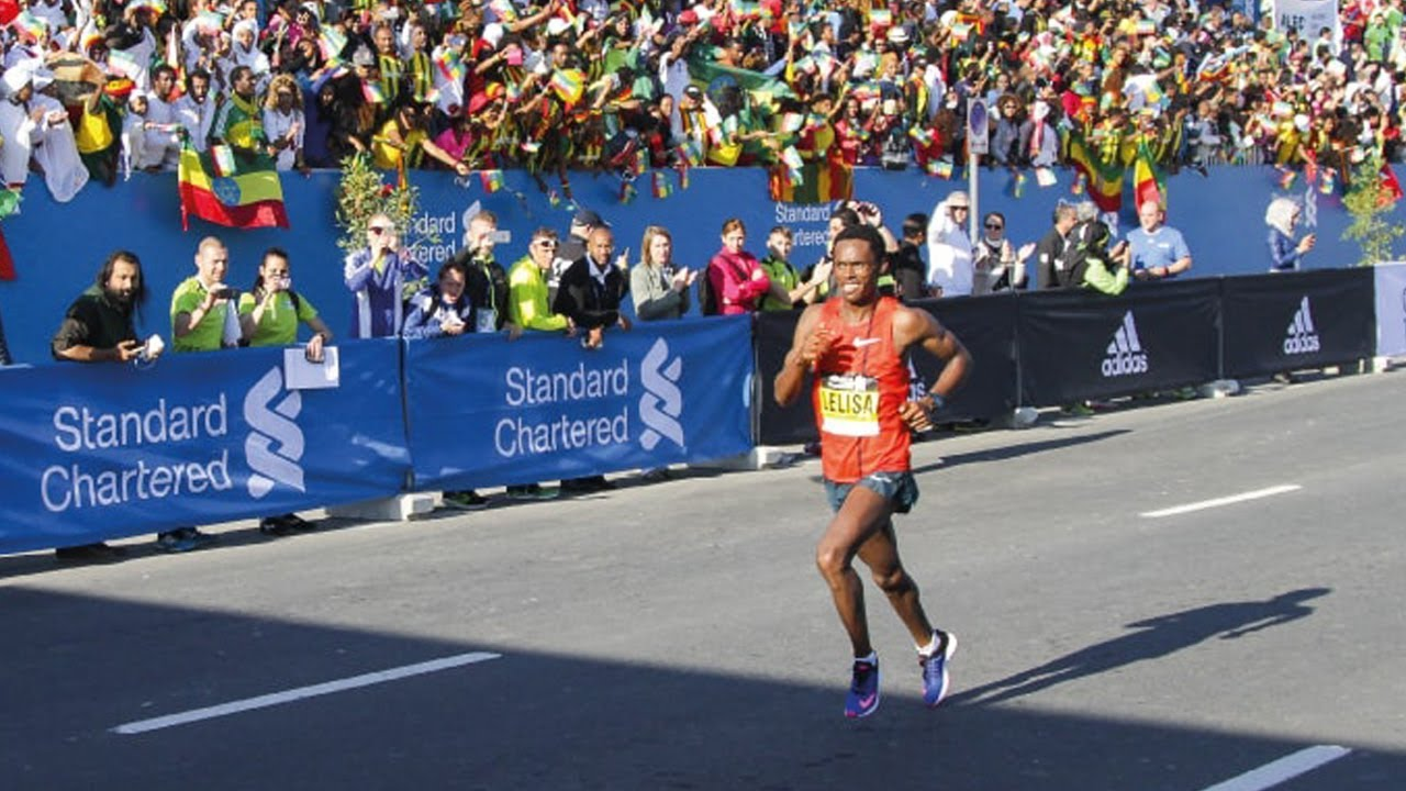 2019 Dubai Marathon - LIVE