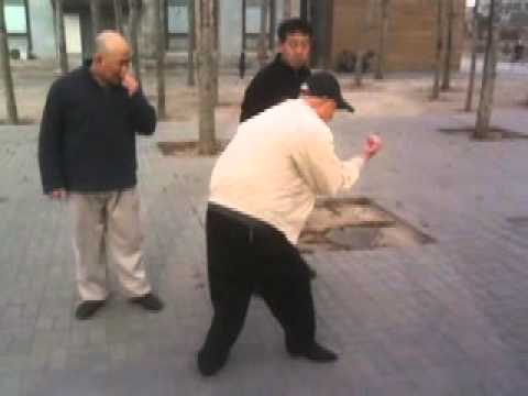 Zhang Bao Yang (张宝杨), 90 years old  Xing Yi Quan Grandmaster