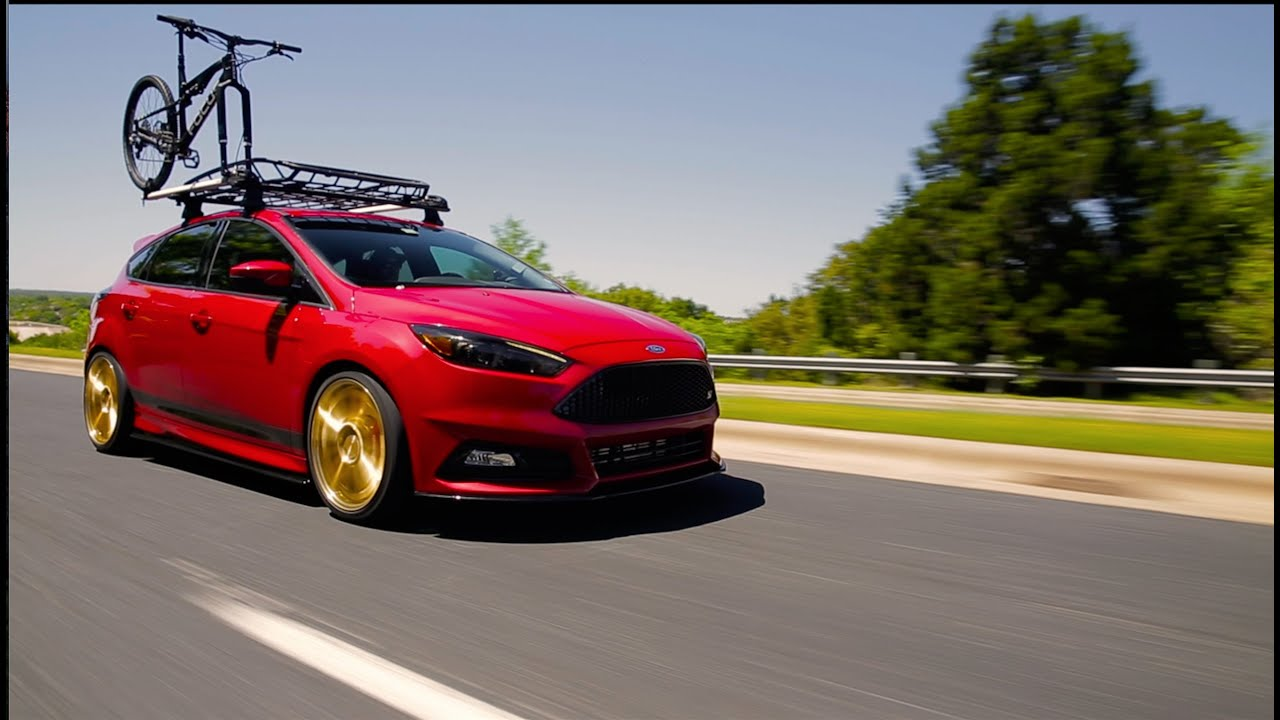 COBB Tuning - 2015 SEMA Ford Focus ST x Focus Bikes - YouTube
