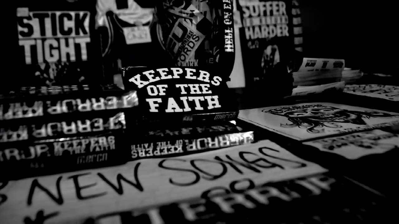 TERROR - Keepers Of The Faith (OFFICIAL VIDEO)