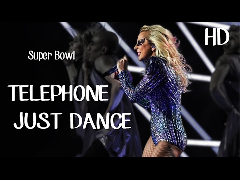 Telephone/Just Dance - Lady Gaga (Live At Super Bowl Halftime Show 2017) | HD