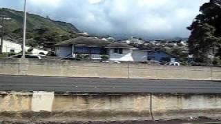 ハワイの高速道路