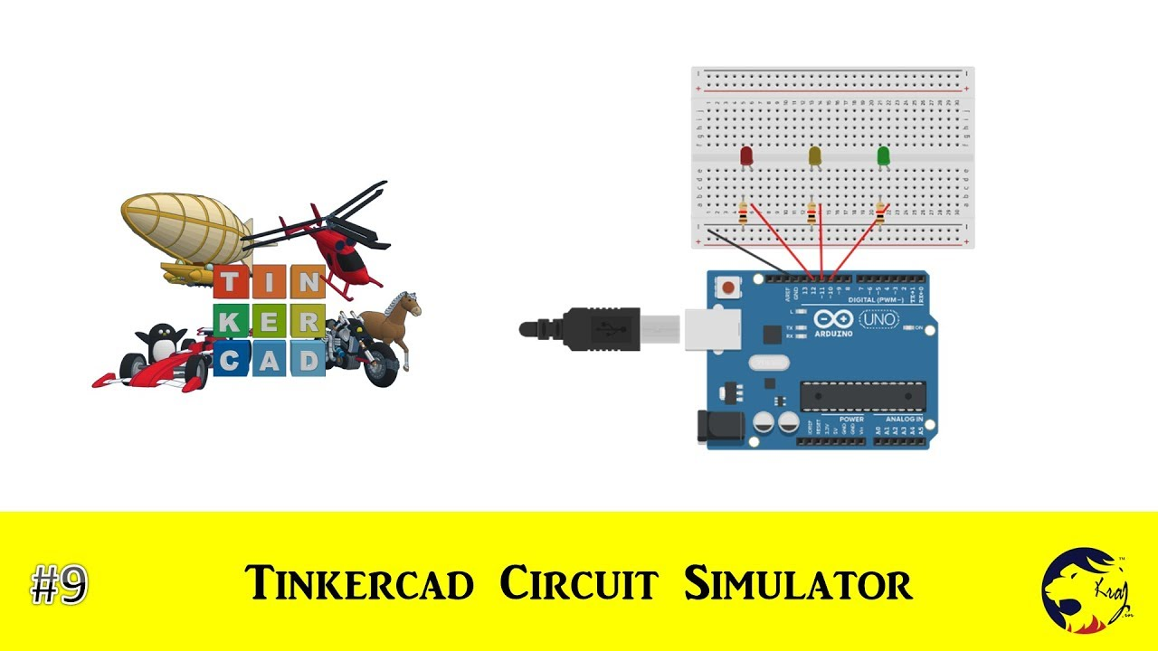 TINKERCAD Online Free Circuit Simulator
