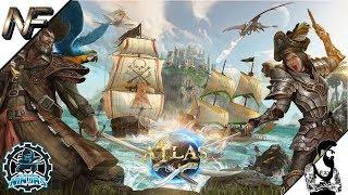 Atlas - New PVP Pirate MMO, Setting Up The Clockwork Ninja Company!
