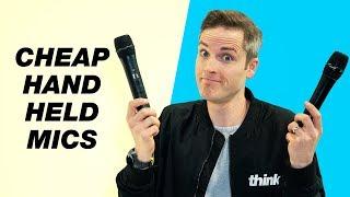 Budget Handheld Microphones Comparison — Saramonic VS. BOYA