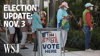 Election Update: America Votes, Battleground States to Watch | WSJ