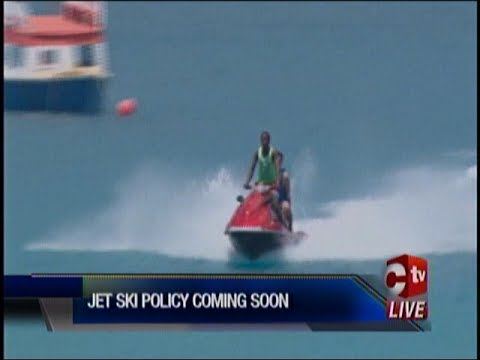 Jet Ski Policy For Tobago In The Works