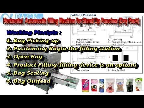 Doy Pack Filling Packing Machine AP-1BT for Coconut Sugar Crystals