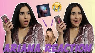 new ariana grande no tears left to cry reaction freak out just sharon