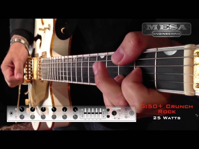 MESA/Boogie Express 5:50+ Ch. 1 CRUNCH – Rock