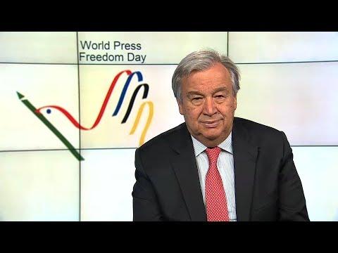 Journée mondiale de la liberté de la presse 2018 - Message du Secrétaire général