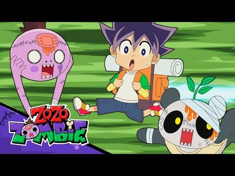 Zo Zo Zombie! It's Camping With Zombie Hunter Joe