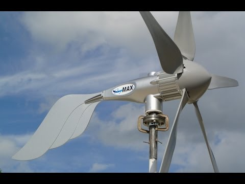 Wind turbine SkyMax™ Pegasus 1500 watt install by Missouri Wind