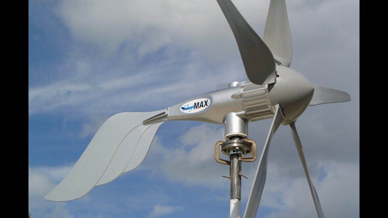 Wind Turbine Skymax Pegasus 1500 Watt Install By Missouri