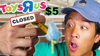 The LAST $5 Weird Toys R Us Toy Hunt EVER!