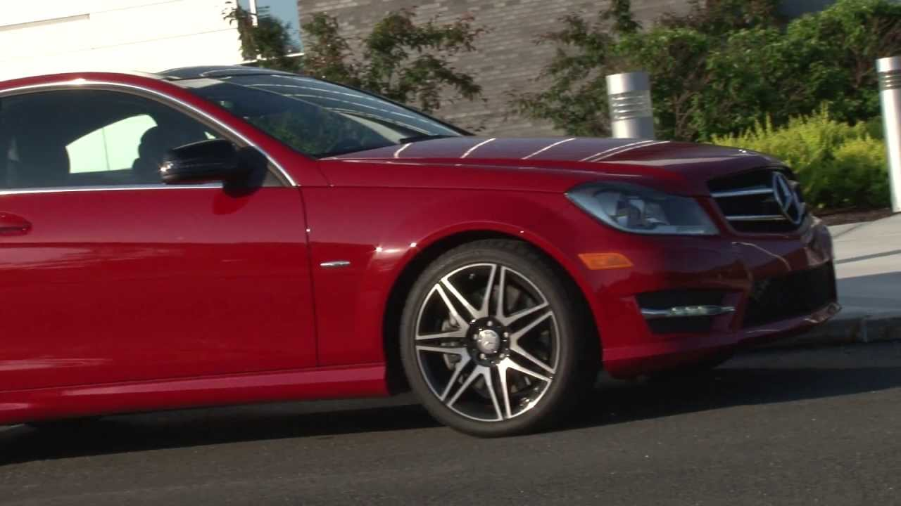 2013 mercedes benz c250 coupe drive time review with for Mercedes benz c250 review