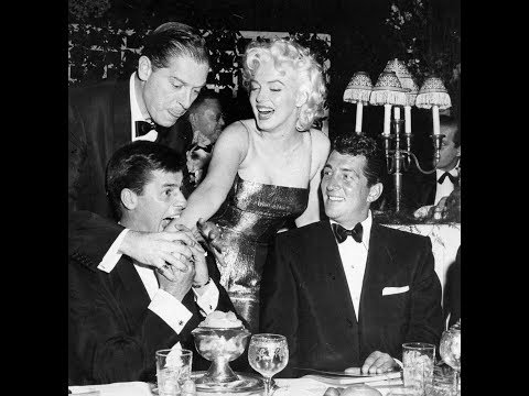 Marilyn Monroe, Dean Martin And Jerry Lewis