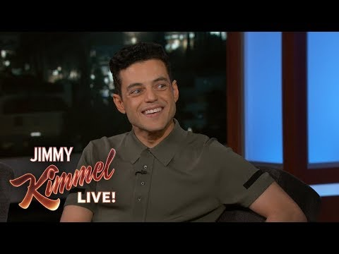 Valentine In The Morning - Rami Malek Comments On That Awkward Nicole Kidman Moment