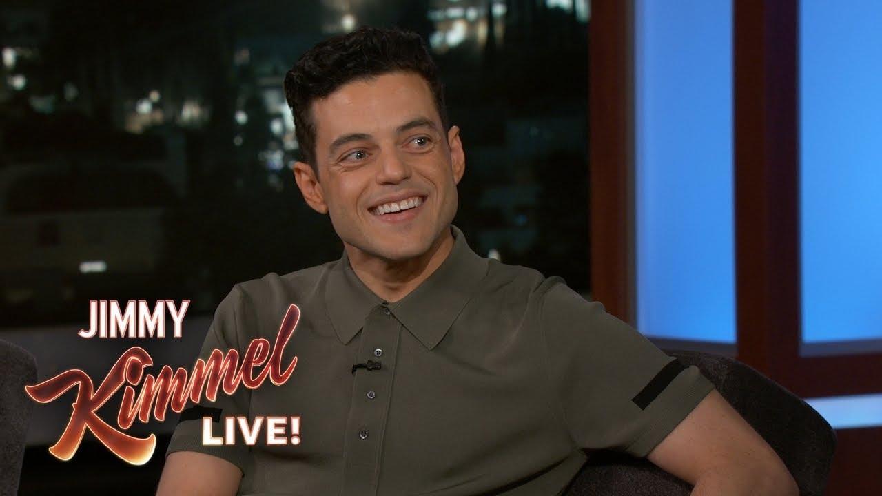 Rami Malek Responds to Awkward Nicole Kidman Moment