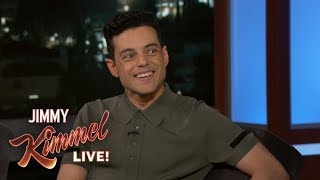 Rami Malek Responds to Awkward Nicole Kidman Moment