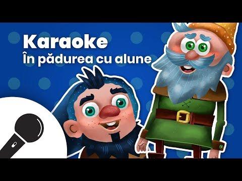 IN PADUREA CU ALUNE: Negativ Karaoke + Versuri  Planeta Vesela – Cantece pentru copii in limba romana