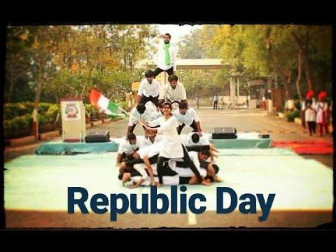 2K17 REPUBLIC DAY    PATRIOTIC DANCE PERFORMANCE   RCOEM DANCE CLUB