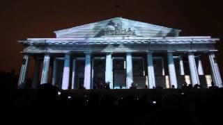 Лазерное шоу в Санкт-Петербурге, Новый Год 01.01.2013