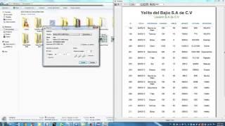 Demo - iReport con Java (Exportar a EXCEL,PDF,DOC,HTML...ETC)