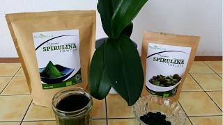 Мои витамины ! Часть 3 ! Спирулина чудо водоросль ! Спирулина для похудения  и спорта !