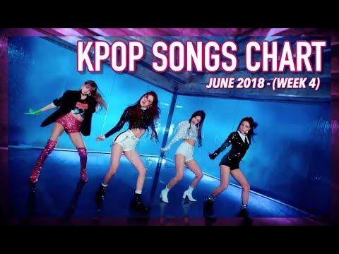 K-POP SONGS CHART   JUNE 2018 (WEEK 4)