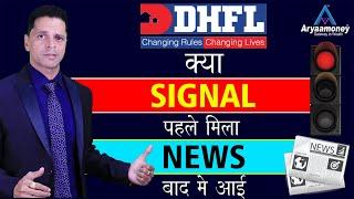 DHFL Share में क्या Sell का Signal पहले मिला और न्यूज़ बाद में आई ?