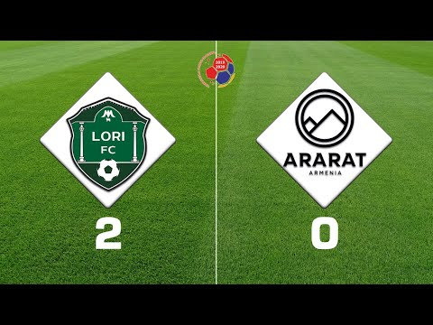 Lori - Ararat-Armenia 2:0, Armenian Premier League 2019/20, Week 14