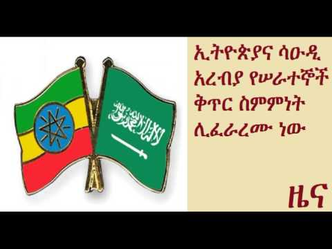 Ethiopia, Saudi Arabia to conclude labor recruitment contract