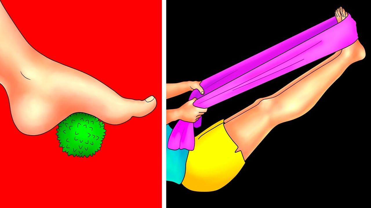 aliviar dolor de piernas por ejercicio