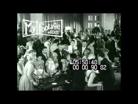 1950s Casino Crowd