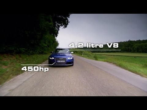 Audi RS 4 Avant Test Drive Fifth Gear