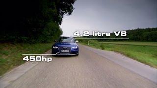 Audi RS 4 Avant Test Drive - Fifth Gear