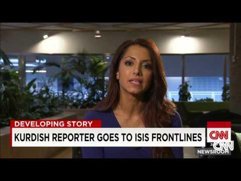 Kurdish reporter on women fighting ISIS