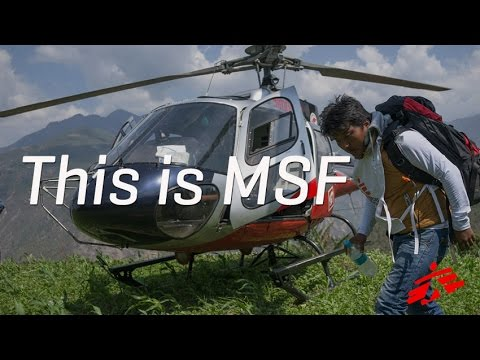 This is Doctors Without Borders/Médecins Sans Frontières (MSF)