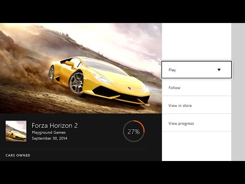 Xbox One's next update includes new game hubs and transparent tiles