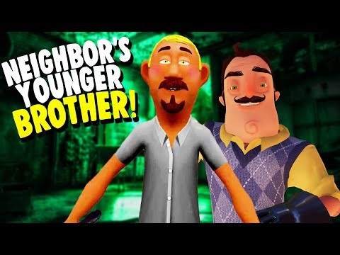 THE NEIGHBORS YOUNGER BROTHER?! | Hello Neighbor Mobile Ripoff Game
