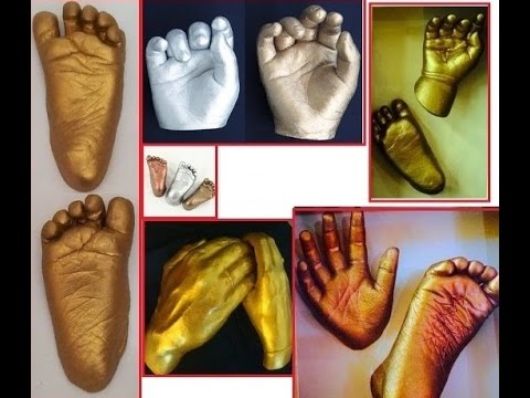 Learn How To Make BABY FOOT IMPRESSION In Just 5 Minutes
