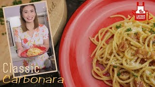 How to Cook Classic Carbonara
