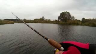 Рыбалка на реке Усманка 08.10.2016г.